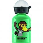 Sigg Water Bottle - Go Team - Monkey Elephant - .3 Liters